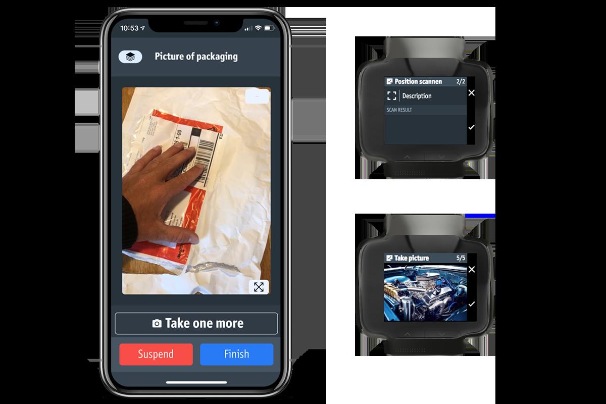 Example: Quality app